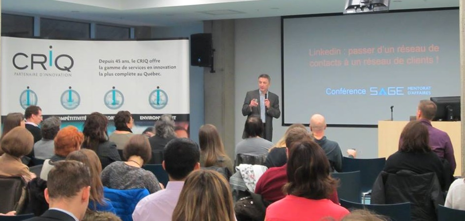 conference Linkedin Quebec