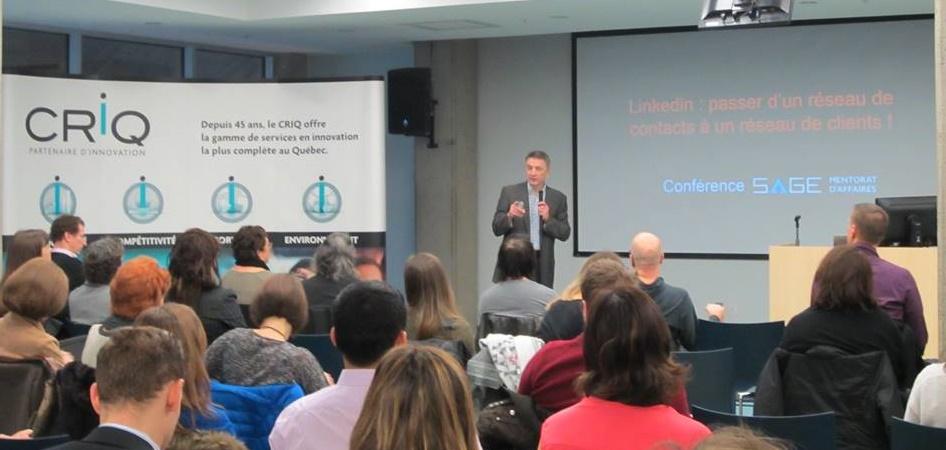 conference Linkedin Quebec